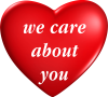 we care about you heart